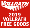 Vollrath Free Goods 2019